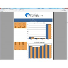 Yearly Trend/Summary Business Report (Vertical)